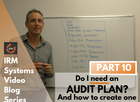 Do you NEED an Audit Plan? And more importantly, how to create one