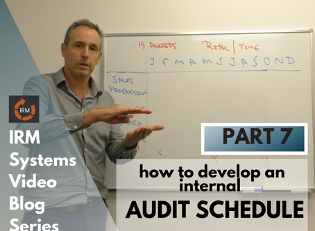 How To Develop an Internal Audit Schedule