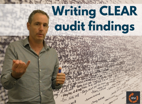 How to write a clear and concise audit finding statements