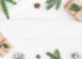 Christmas composition. Christmas gift, k