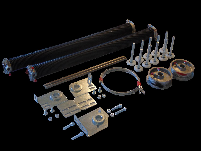 Complete Garage Door Torsion Spring Overhaul Kit Partsstore