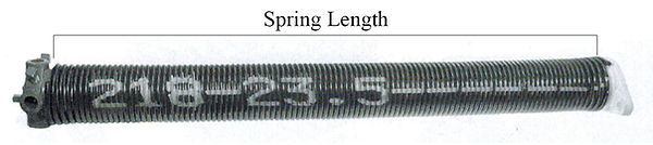 Torsion Spring Overhead Garage Door