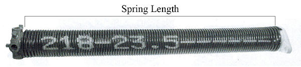 New garage door springs