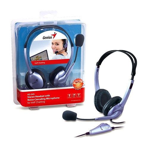 Audifono Genius Para Pc HS-04S