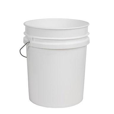 White 20 Litre Detailing Bucket