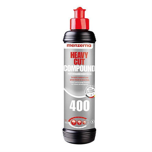 Menzerna 400 Heavy Cut Compound 250ml