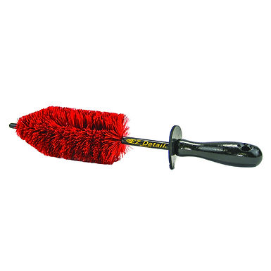 EZ Detail Speed Master Junior Wheel Brush Red
