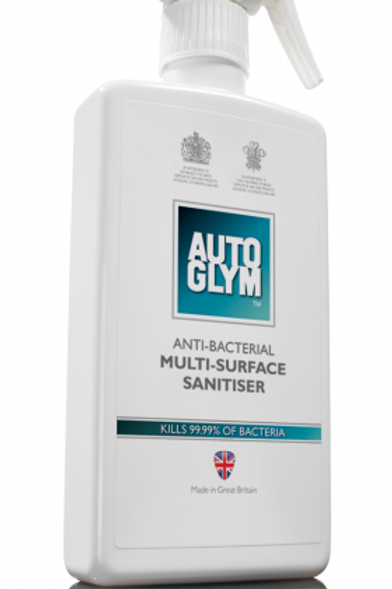 Autoglym Anti-Bacterial Multi-Surface Sanitiser 500ml