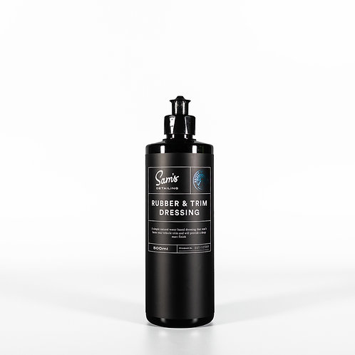 Sam's Detailing Rubber & Trim Dressing 500ml
