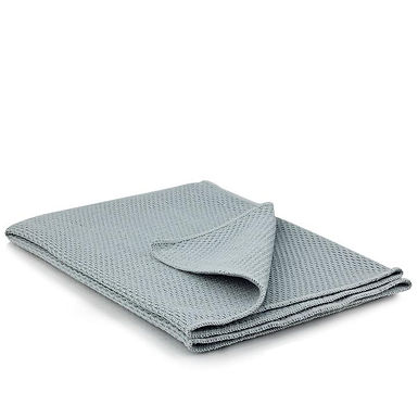 Grey Waffle Weave Drying Towel
