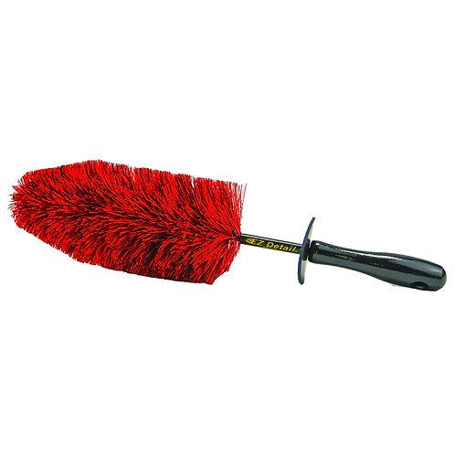 EZ Detail Speed MasterWheel Brush Red
