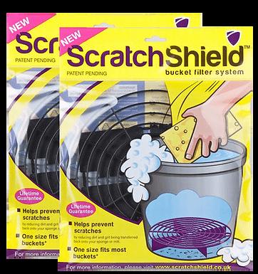 Scratch Shield Adjustable Bucket Guard