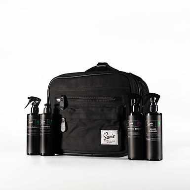 Sam's Detailing Kit Bag with 4x 250ml samples