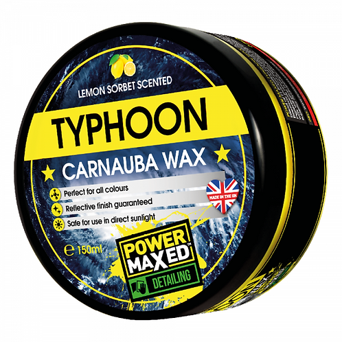 Power Maxed Typhoon Carnauba Wax