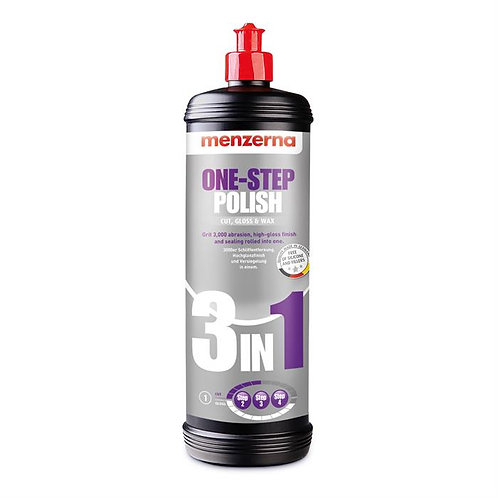 Menzerna 3 In 1 One-Step Polish 1 Litre