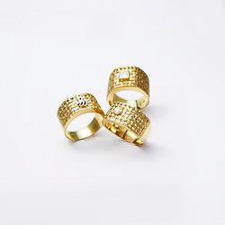 Anéis Coleção Mini Malha