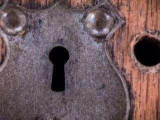 Through the keyhole...