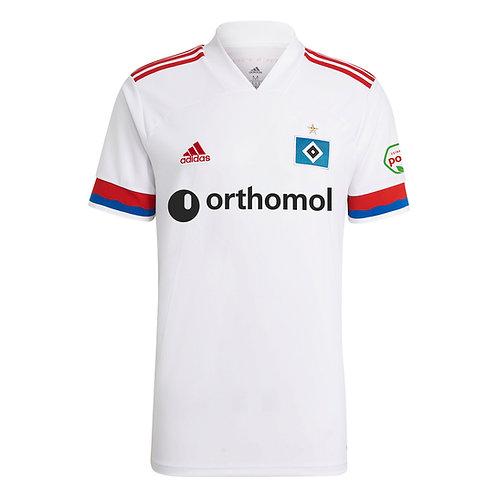 HSV adidas Heimtrikot weiß Orthomol vorne