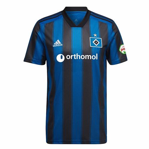 HSV Auswärtstrikot 2021 2022 in schwarz blau von adidas