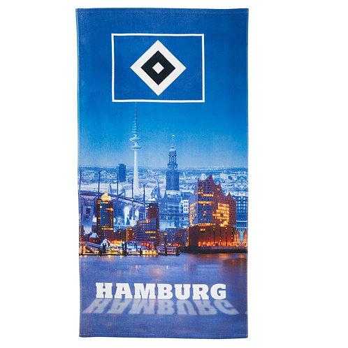 HSV Strandtuch Hamburger Hafen