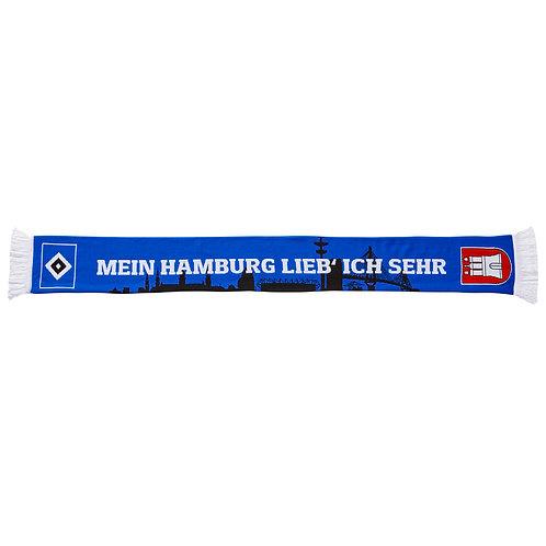 HSV Schal Mein Hamburg lieb ich sehr