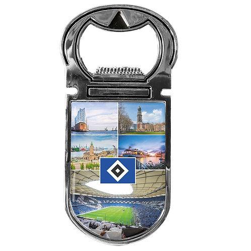 HSV Flaschenöffner Magnet Hamburg