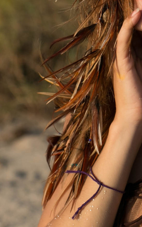Bronze striped warrior feather hair extension about plume angel made from ethically sourced feathers from tropical birds wake up the spirit of the bird letting you fly free our natural feather hair extensions are pmusecretfo Choice Image