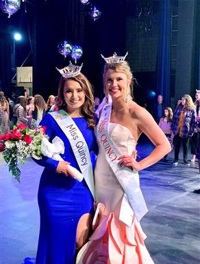 Hildebrand '20 named Miss Quincy a year after Fox '17