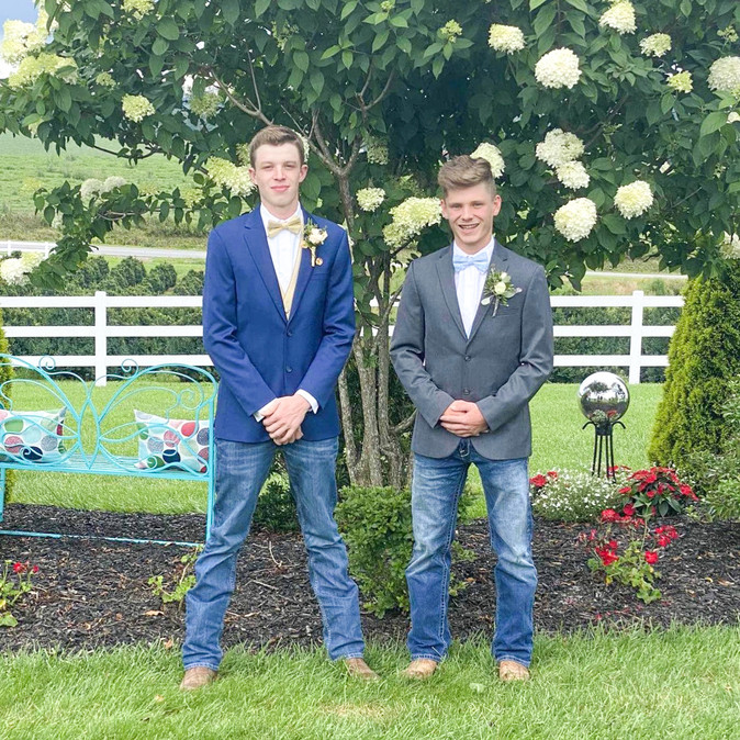 Jonah & Heath at Prom 2020