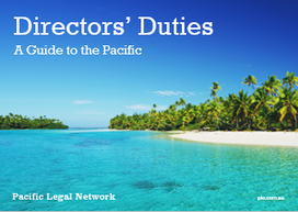 Climate Change in the Pacific - Directors Duties (Fiji edition)