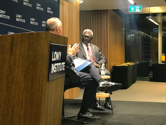In Conversation with PM Sogavare