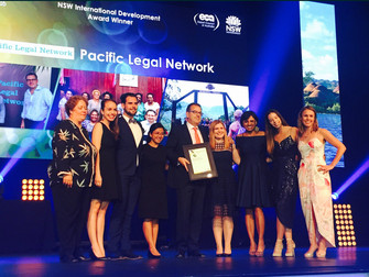 Press Release: Pacific Legal Network wins an Exporter of the Year Award