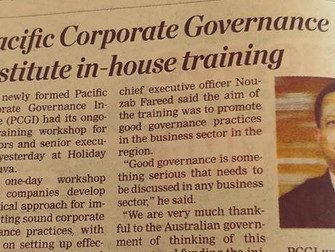 PLN and good governance in Fiji