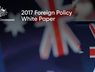 Australia's Foreign Policy White Paper: Pivoting to a Pacific Partnership