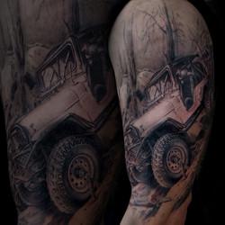jeep arm