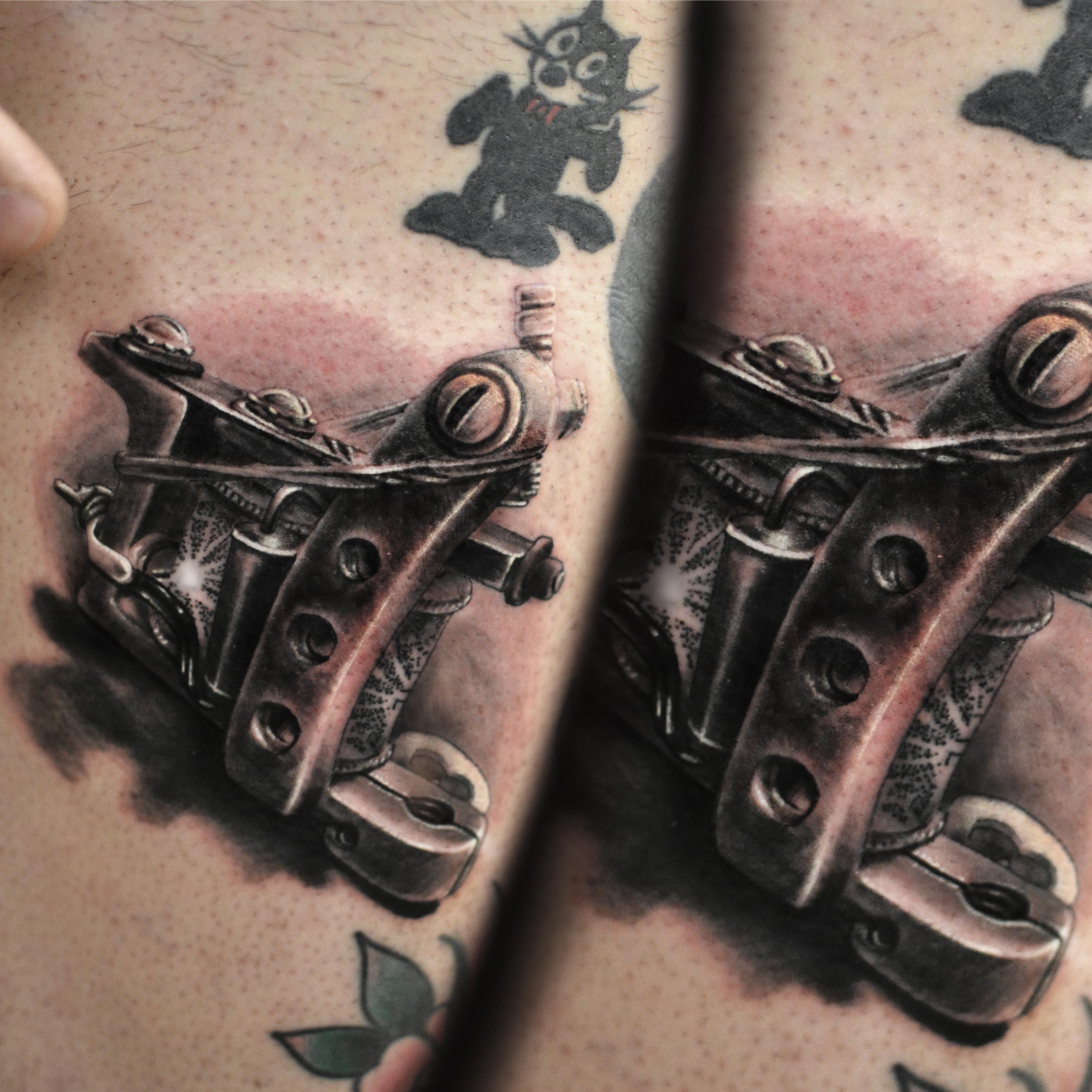 13 tattoo machine black and gray tattoo
