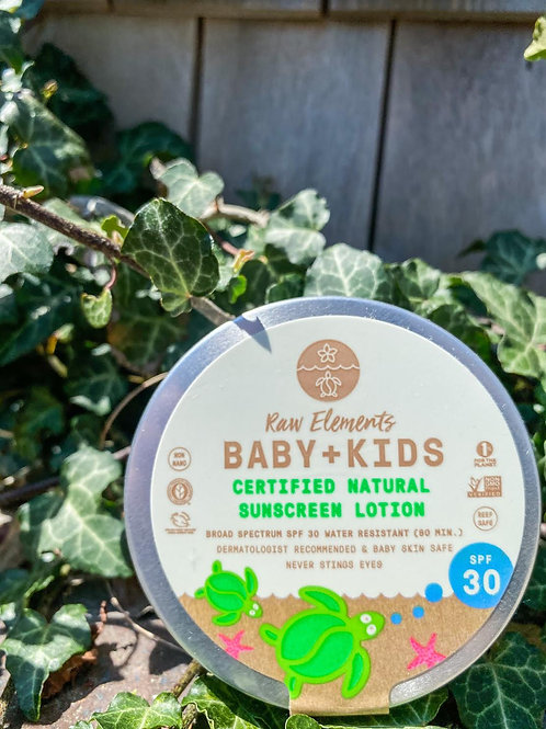 Raw Elements Baby+Kids Tin