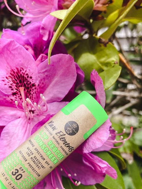 Raw Elements Lip Rescue Sunscreen