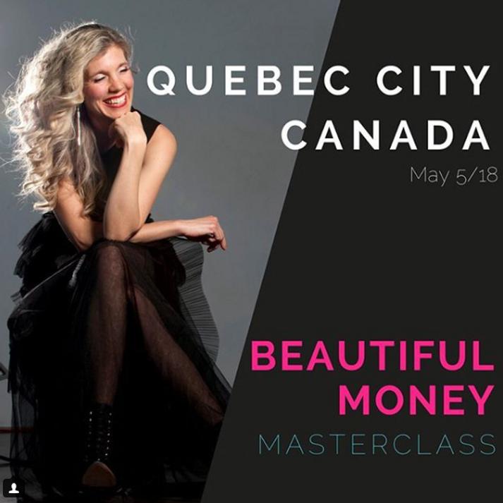 Beautiful Money Masterclass avec Leanne Jacobs