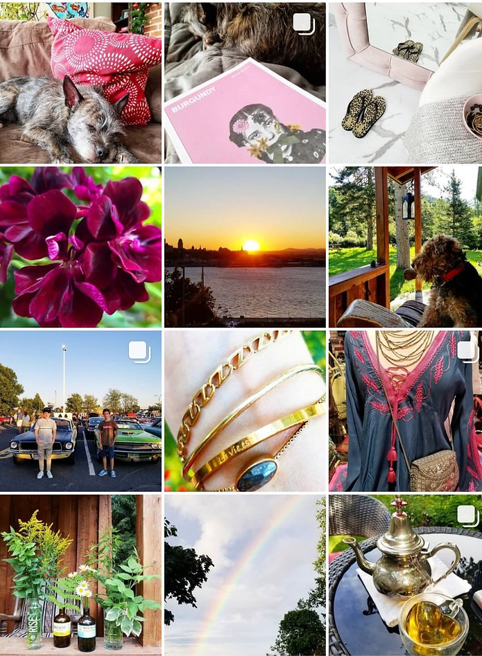 Instagram Nathalie Fortin styliste Usana