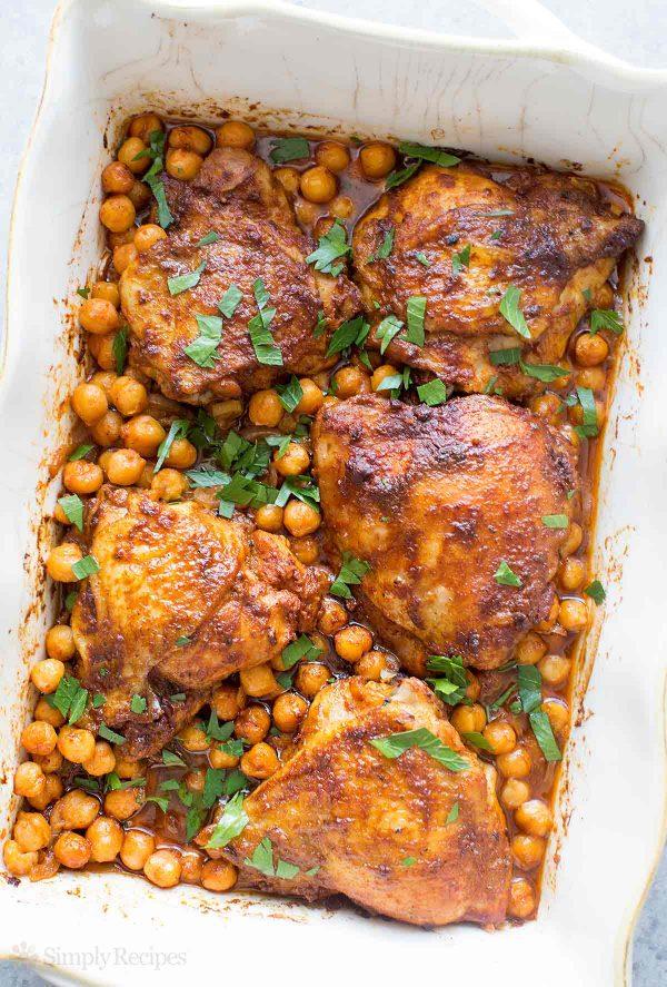 Paprika-Chickpea Chicken