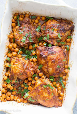 Paprika Chicken Chickpeas