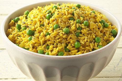Yellow Rice with Peas 1 serving