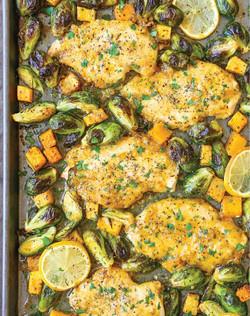 chicken-butternut-squash-brussels-sprout