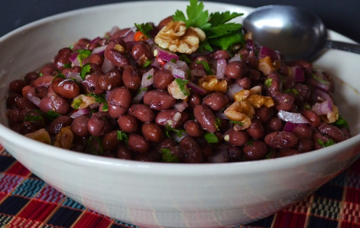 Georgian Red Bean Salad