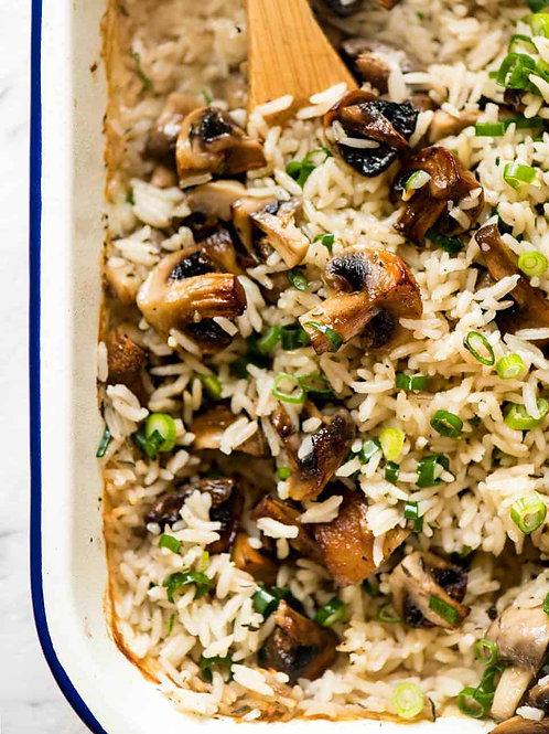 Mushroom Rice 1 serving