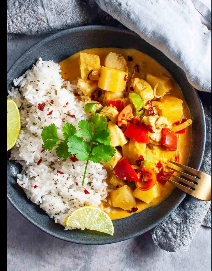 Indian Curry Tofu