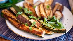 Roasted Eggplants and Zucchini