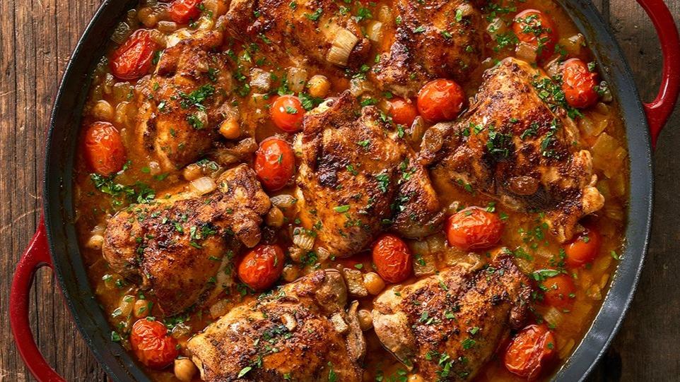 Moroccan Tomato Chicken