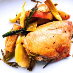 Roasted Apple Chicken